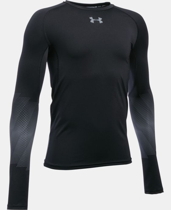 Boys' UA Purestrike Grippy Fitted Long Sleeve  1 Color $64.99