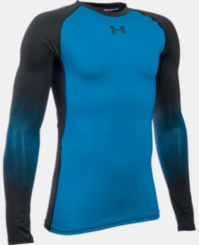 New Arrival  Boys' UA Purestrike Grippy Fitted Long Sleeve  2 Colors $64.99