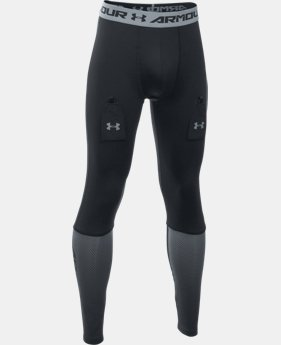 Boys' UA Purestrike Grippy Fitted Leggings   $54.99