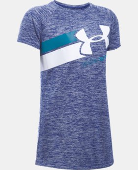 Best Seller Girls' UA Novelty Fast Lane T-Shirt LIMITED TIME: FREE SHIPPING 1 Color $24.99