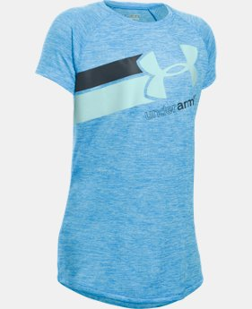Girls' UA Novelty Fast Lane T-Shirt LIMITED TIME: FREE U.S. SHIPPING 1 Color $18.99