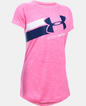 Girls' UA Novelty Fast Lane T-Shirt LIMITED TIME: FREE SHIPPING 1 Color $24.99