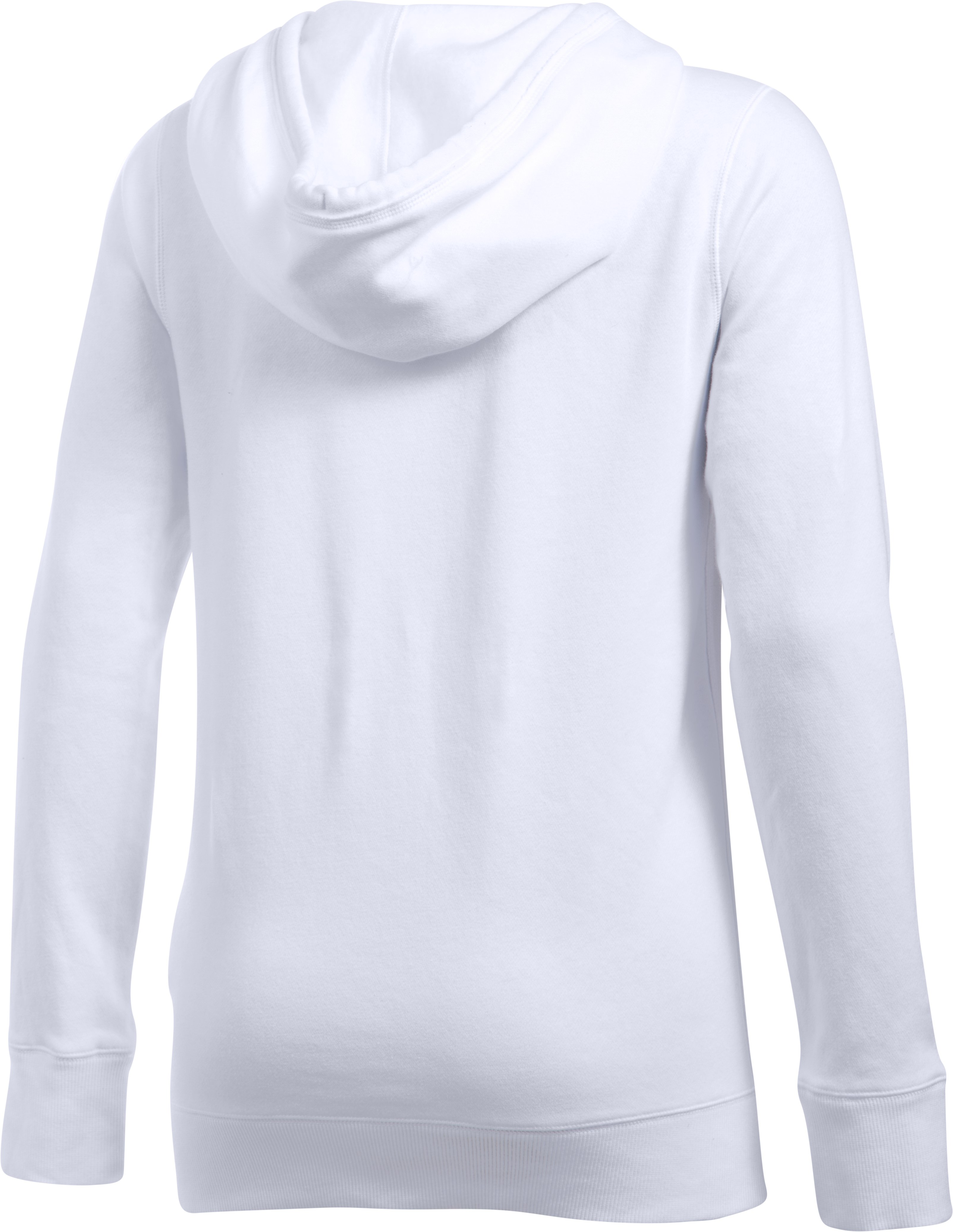 Women's UA Freedom Logo Favorite Fleece Hoodie, White