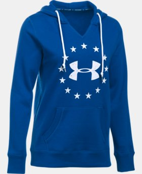 Women's UA Freedom Logo Favorite Fleece Hoodie  4 Colors $54.99