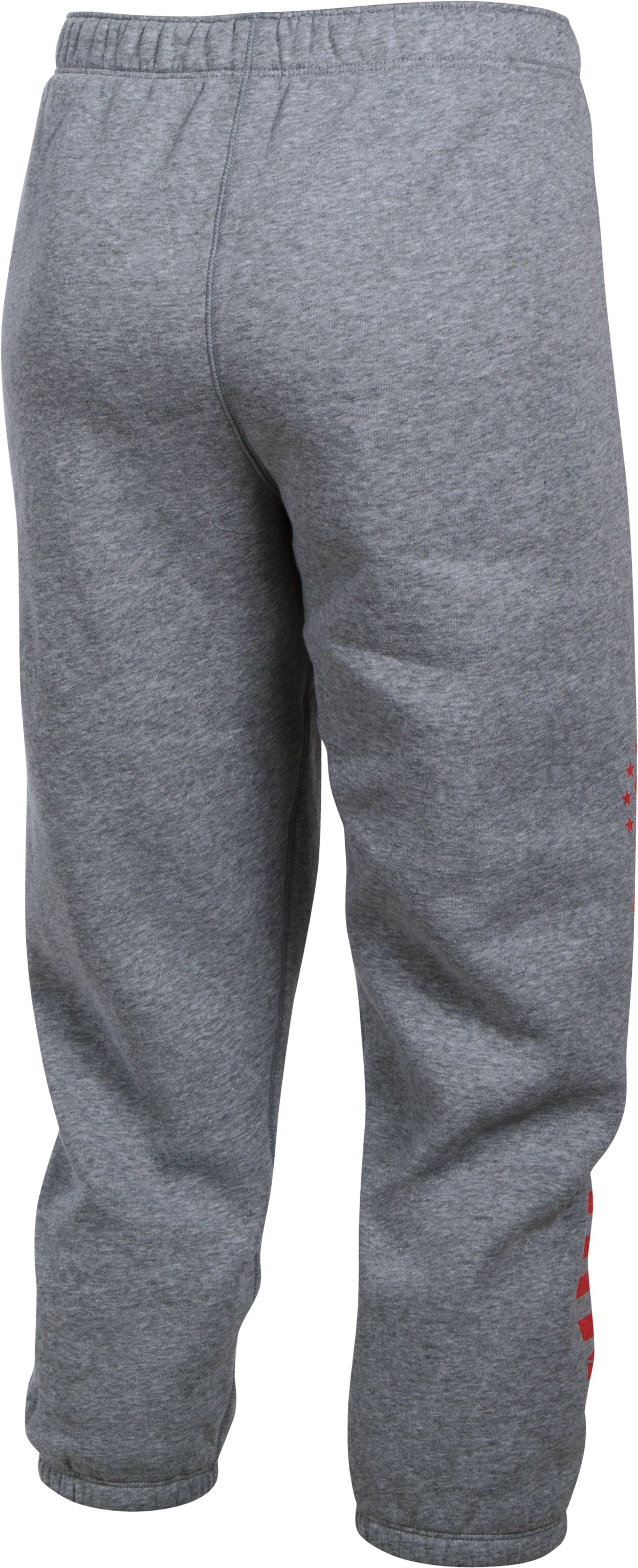 Women's UA Freedom Favorite Fleece Capris, True Gray Heather,