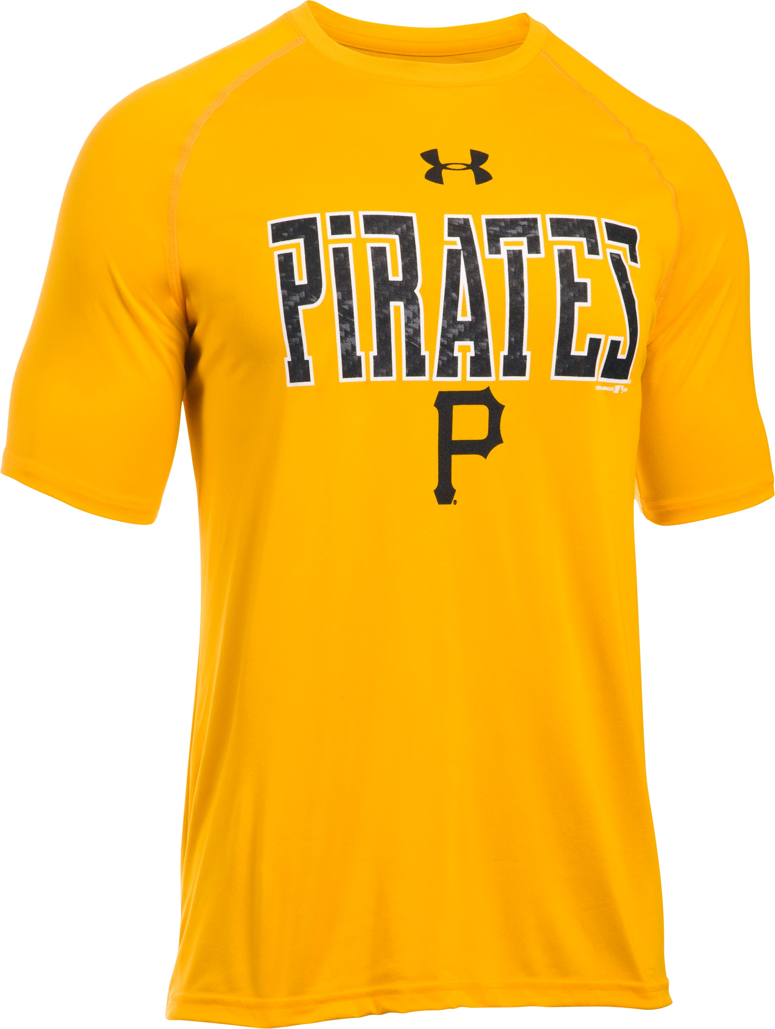 Men's Pittsburgh Pirates Team Tech™ T-Shirt, Steeltown Gold, undefined