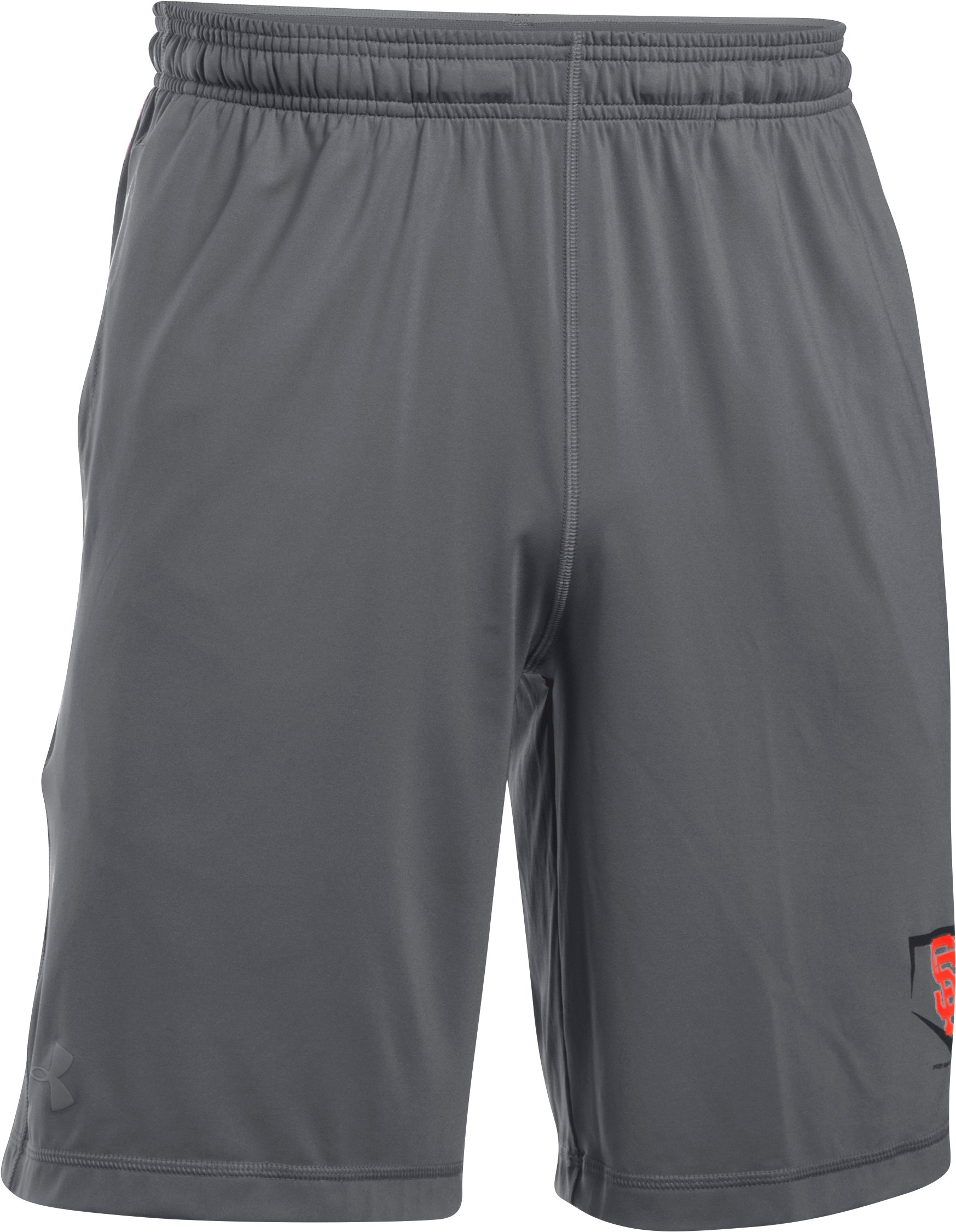 Men's San Francisco Giants Raid Shorts, Graphite, undefined