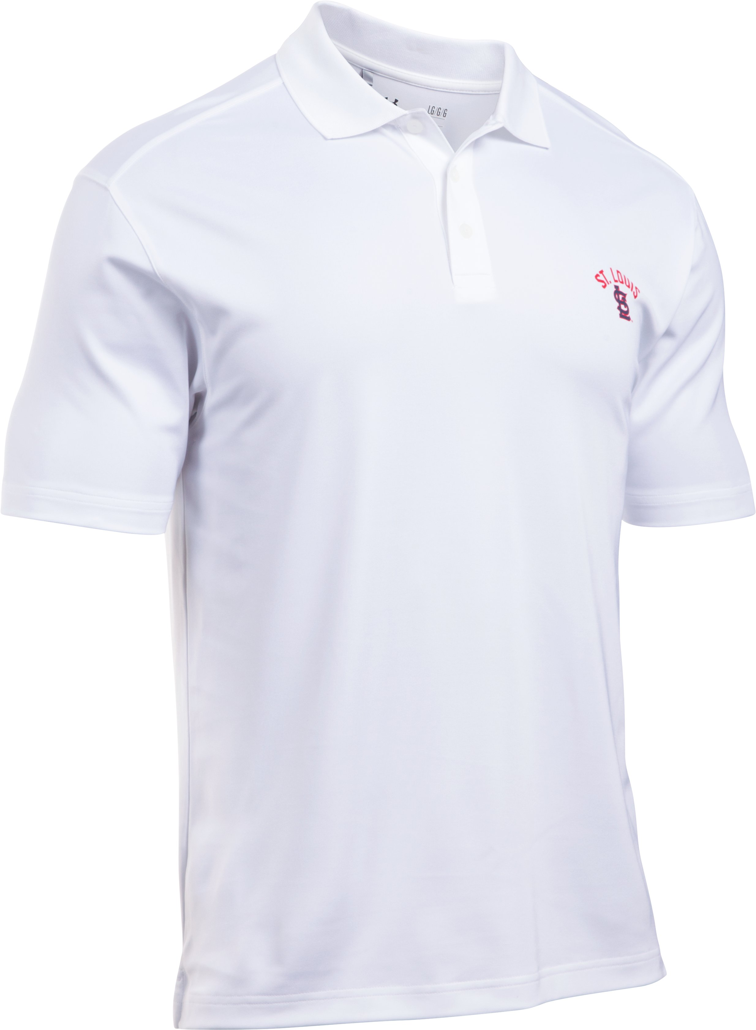 Men's St. Louis Cardinals Performance Polo, White, undefined