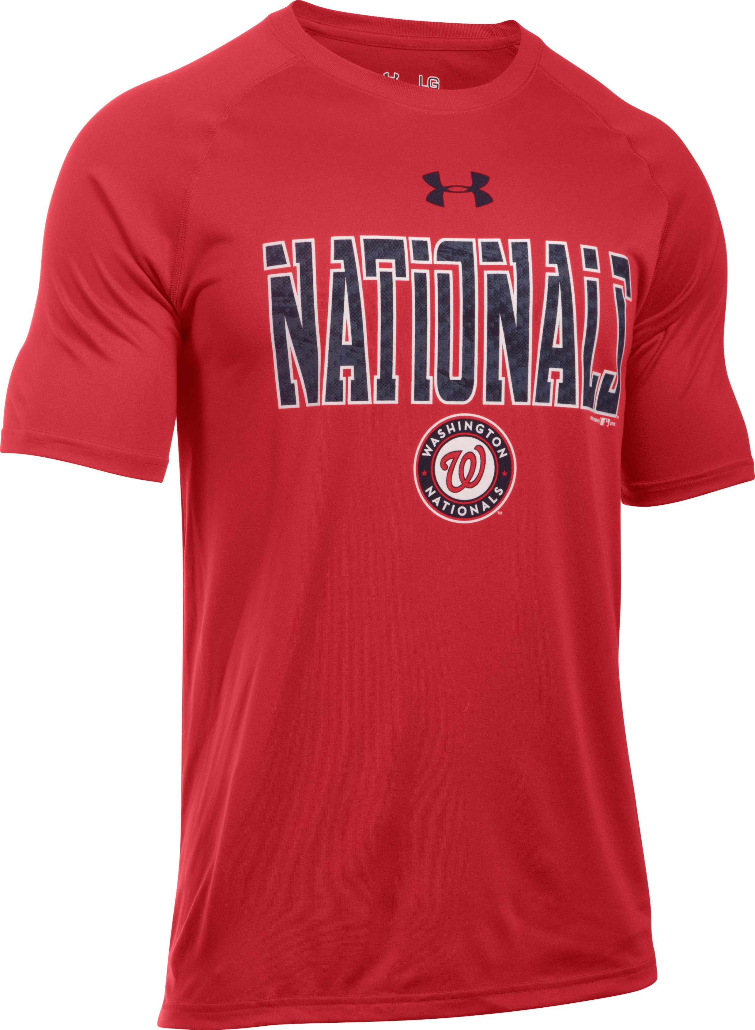 Men's Washington Nationals Team Tech™ T-Shirt, Red,