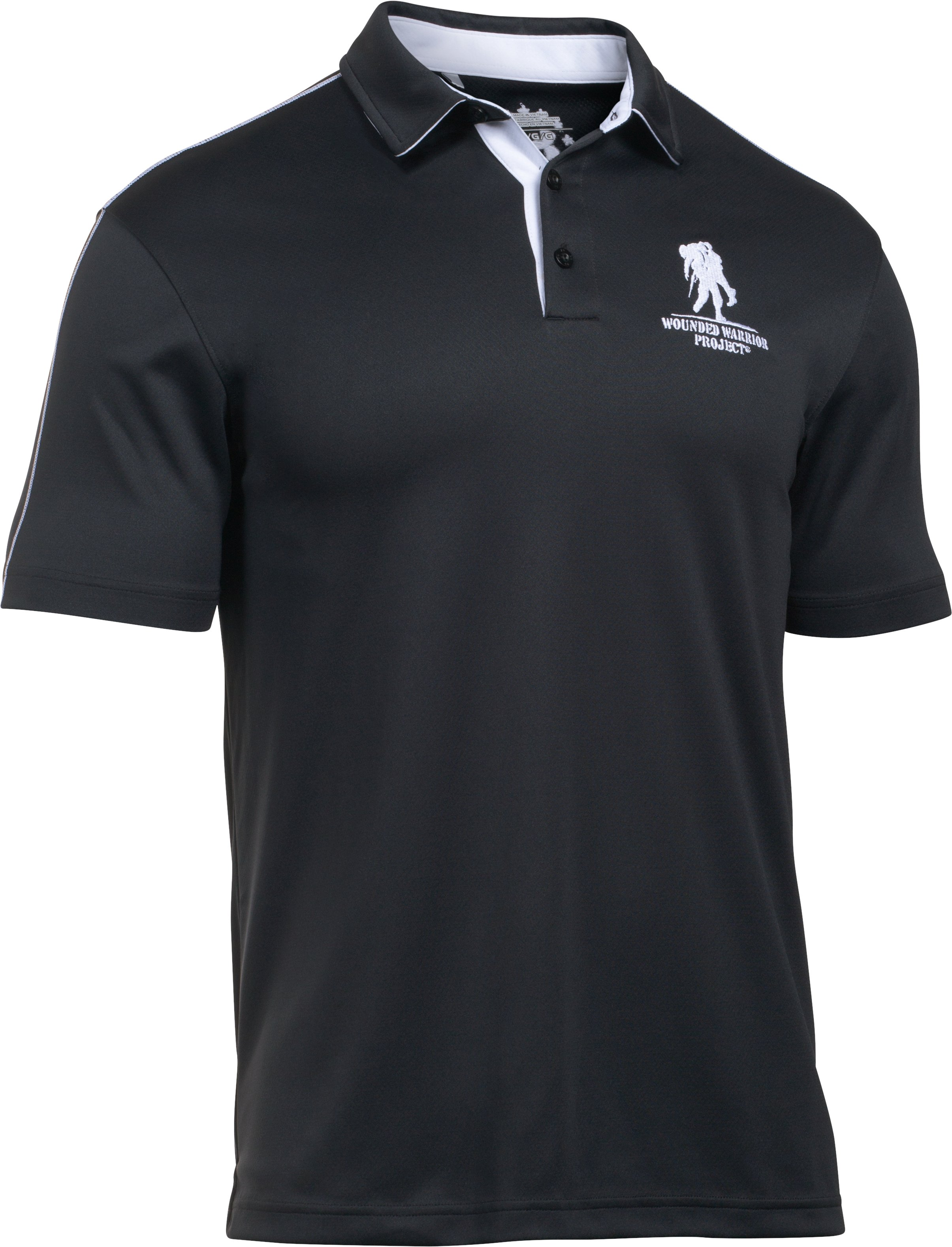 Men's UA Freedom WWP Polo, Black