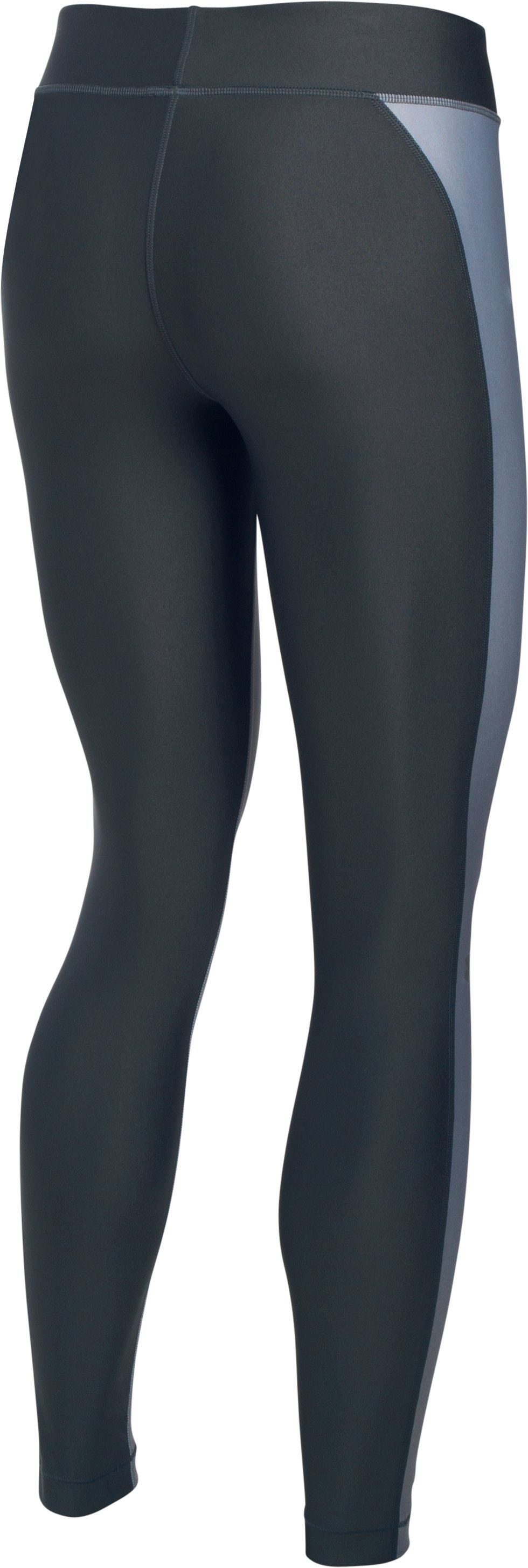 Women's UA HeatGear® Armour Engineered Leggings, Carbon Heather,