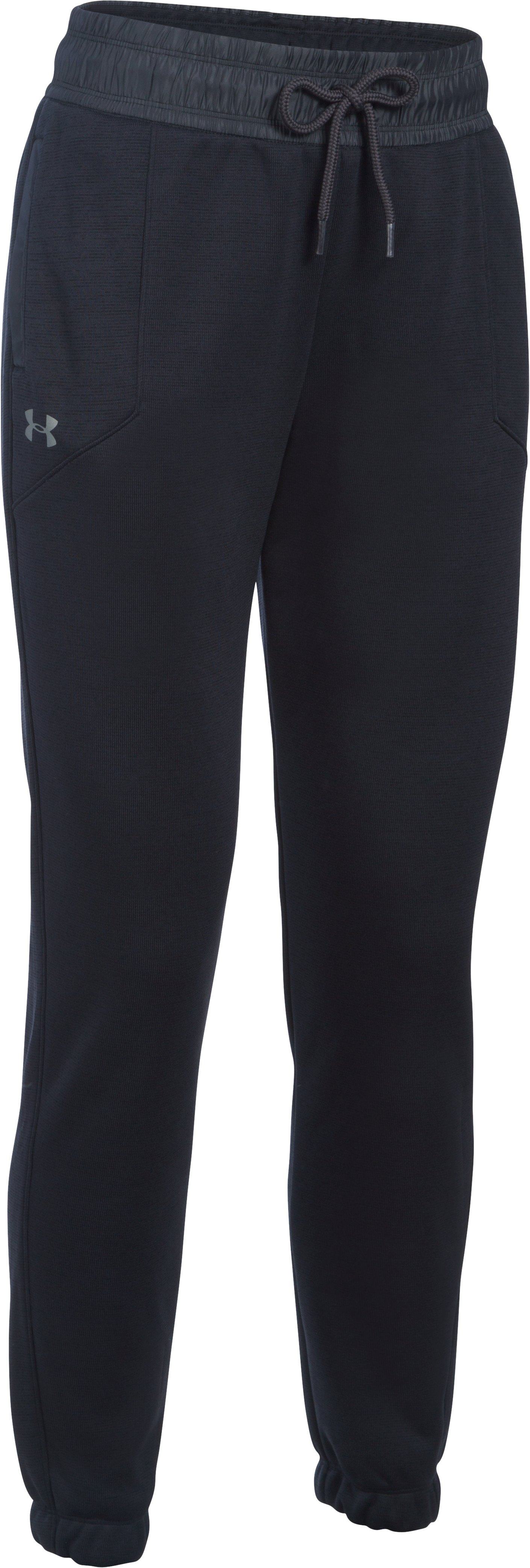 Women's UA Storm Swacket Pants, Black ,