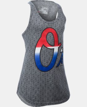 Girls' Baltimore Orioles UA Tri-Blend Tank  1 Color $20.99