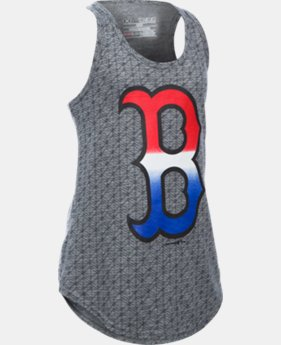 Girls' Boston Red Sox UA Tri-Blend Tank  1 Color $20.99