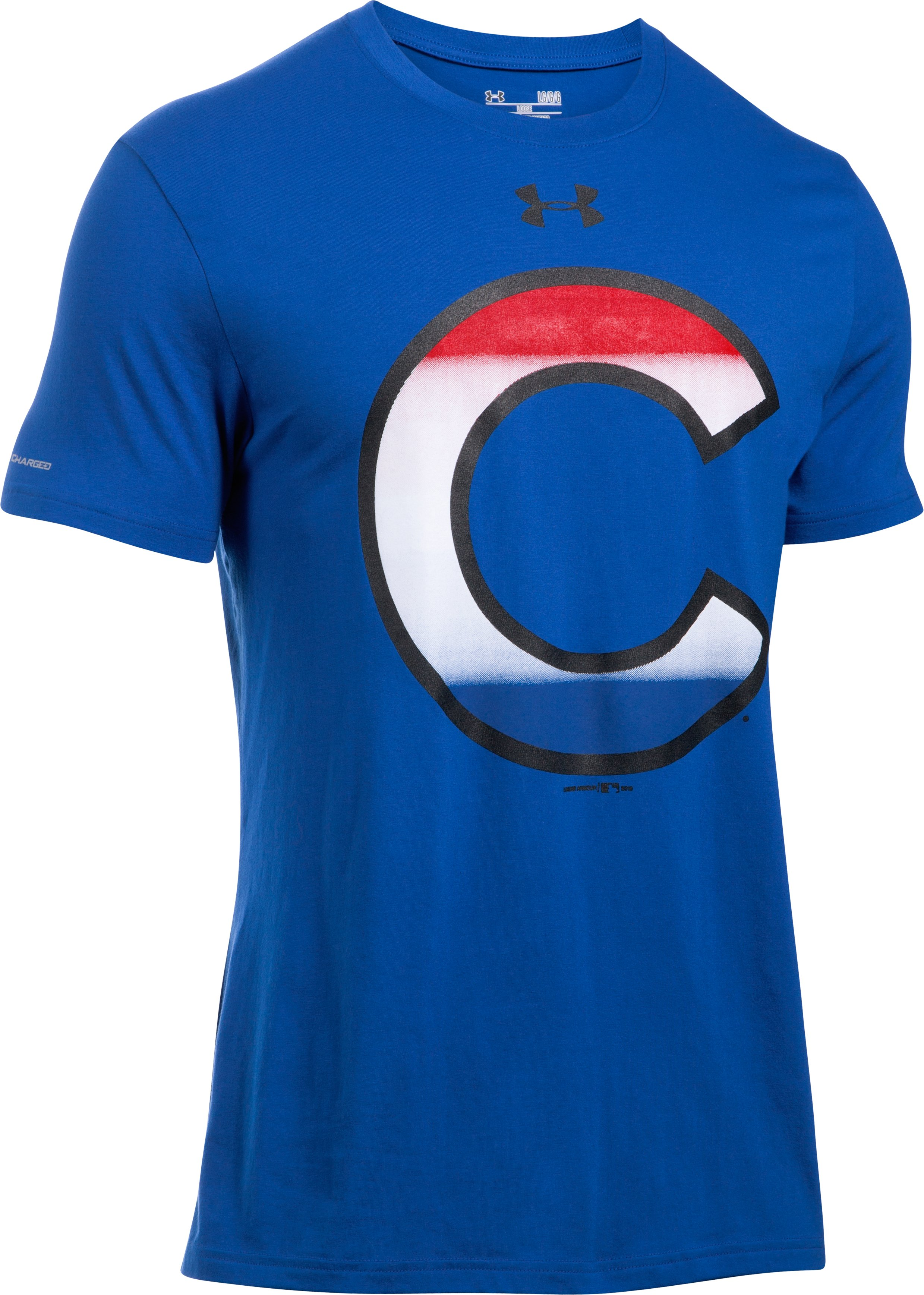 Men's Chicago Cubs T-Shirt, Royal, undefined