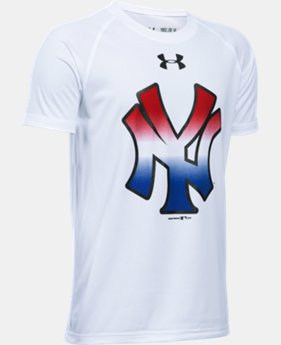 Boys' New York Yankees UA Tech™ T-Shirt  1 Color $18.99