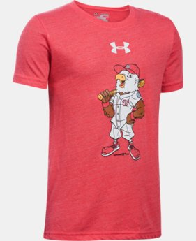 Boys' Washington Nationals Vintage Tri-Blend T-Shirt LIMITED TIME: FREE U.S. SHIPPING  $24.99