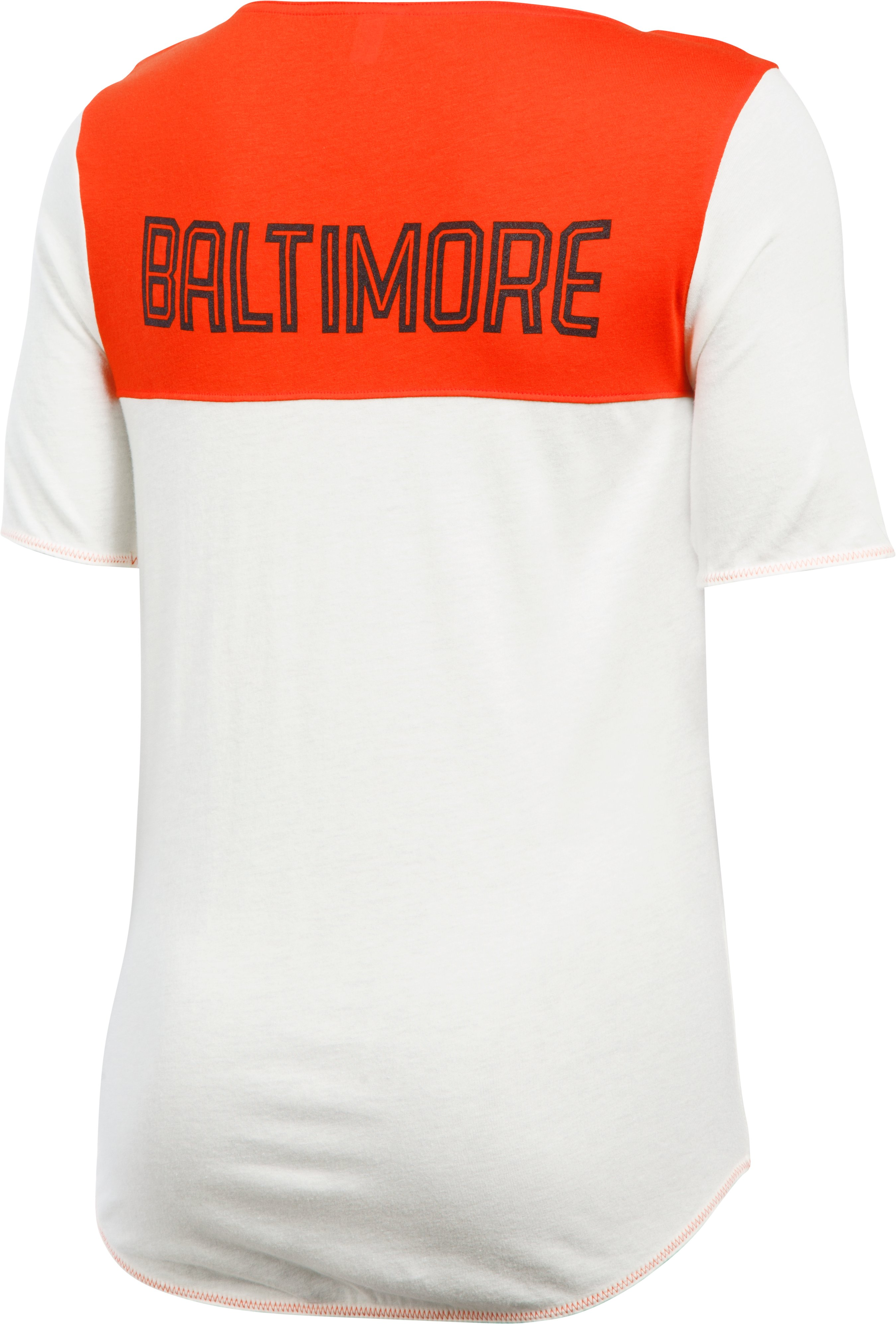 Women's Baltimore Orioles Vintage Shirzee, Dark Orange