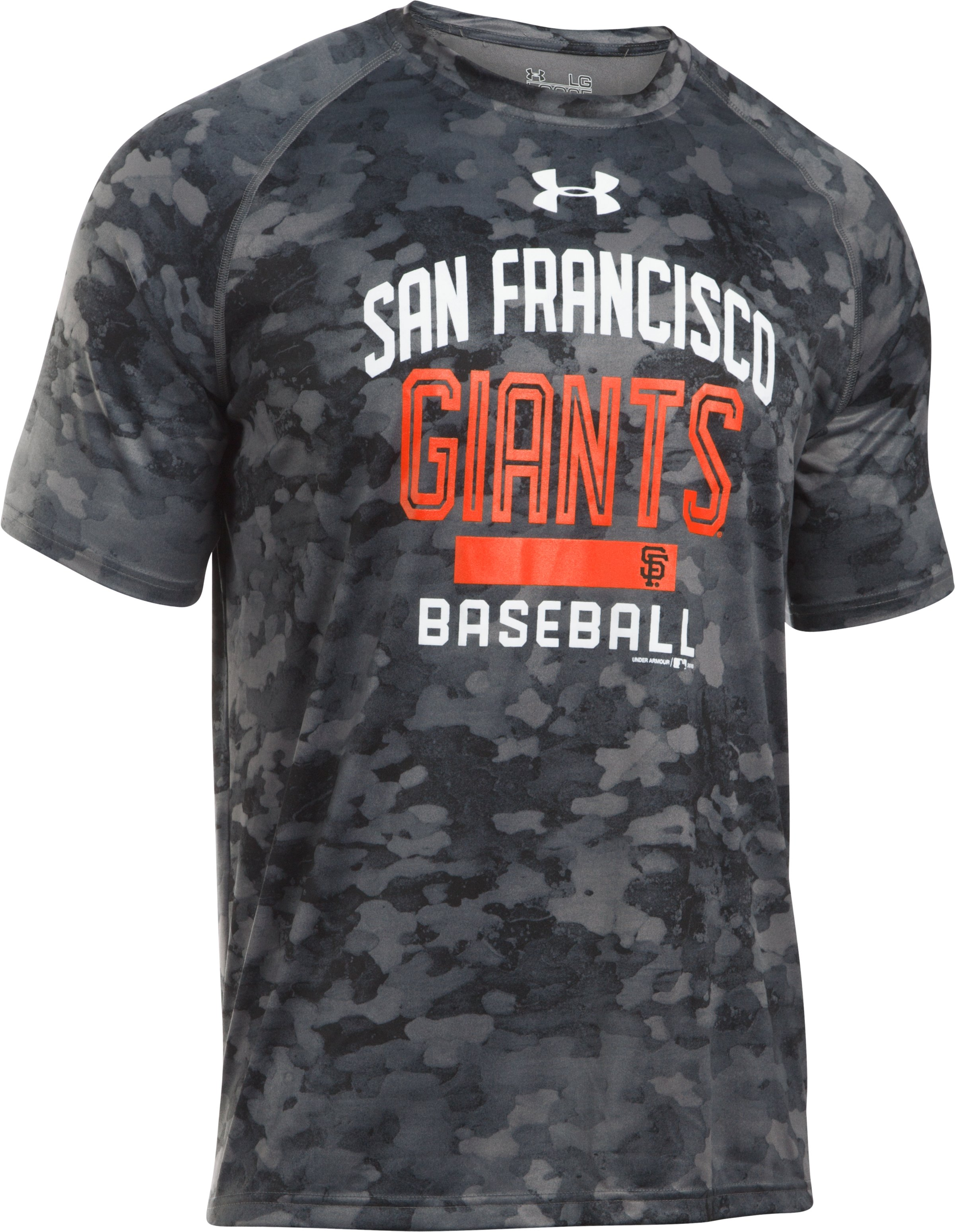 Men's San Francisco Giants Camo Tech™ T-Shirt, Black ,