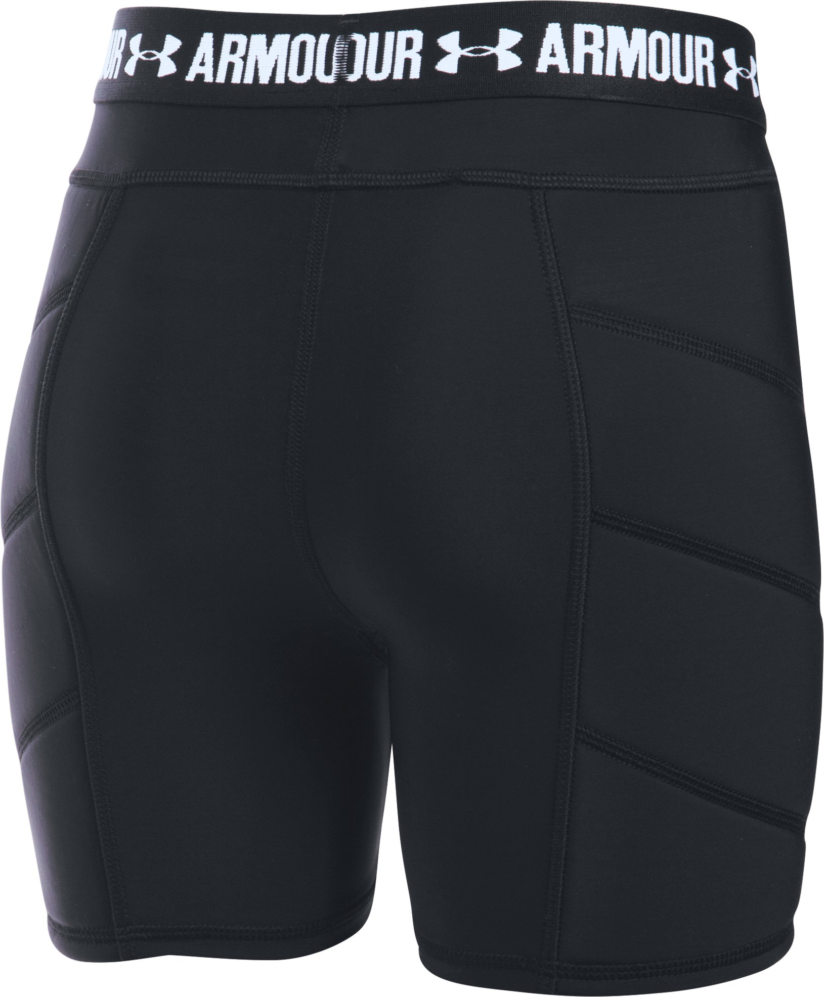 Girls' UA Softball Slider, Black
