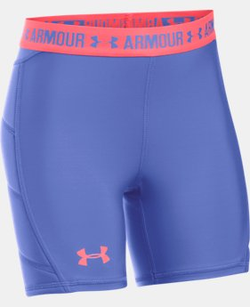 Girls' UA Softball Slider  1  Color Available $17.99 to $22.99