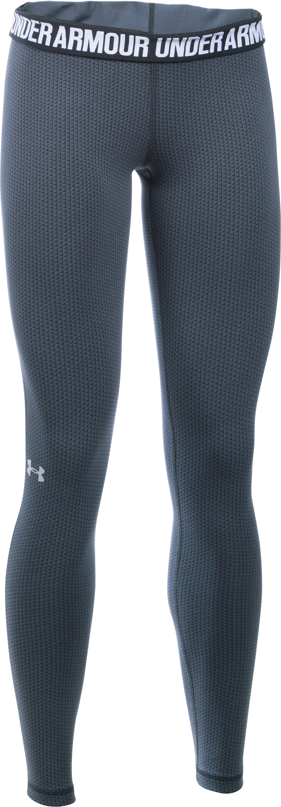 Women's UA Favorite Checkpoint Leggings, STEALTH GRAY,