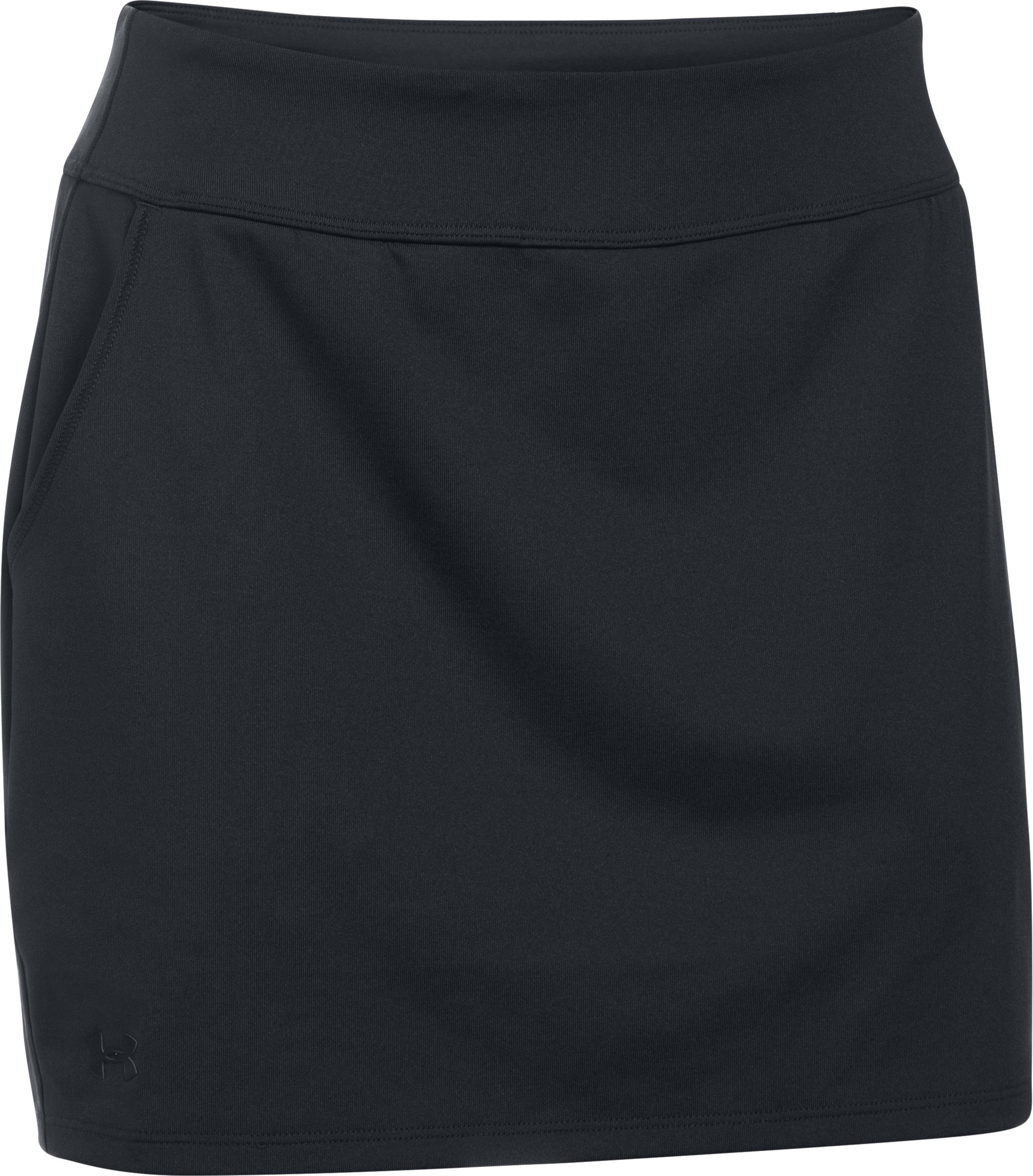 Women's UA Links Knit Skort, Black