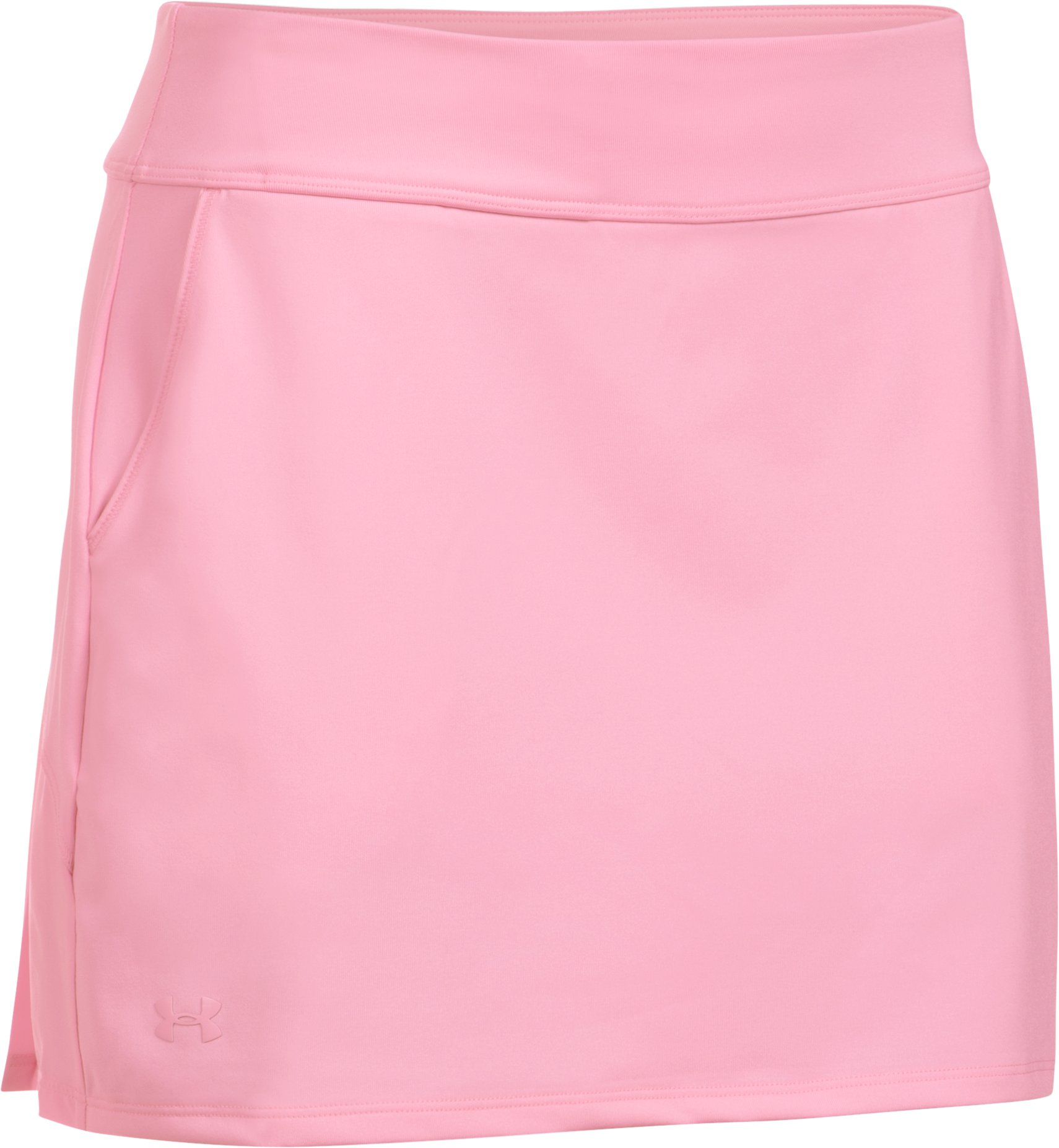 Women's UA Links Knit Skort, Pink, undefined