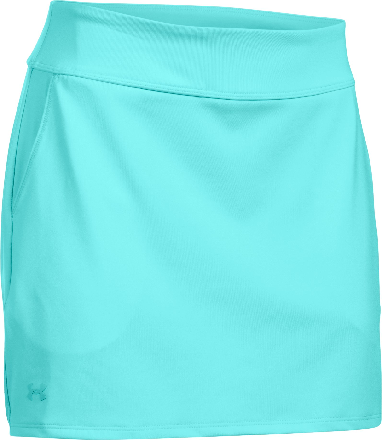 Women's UA Links Knit Skort, BLUE INFINITY, undefined
