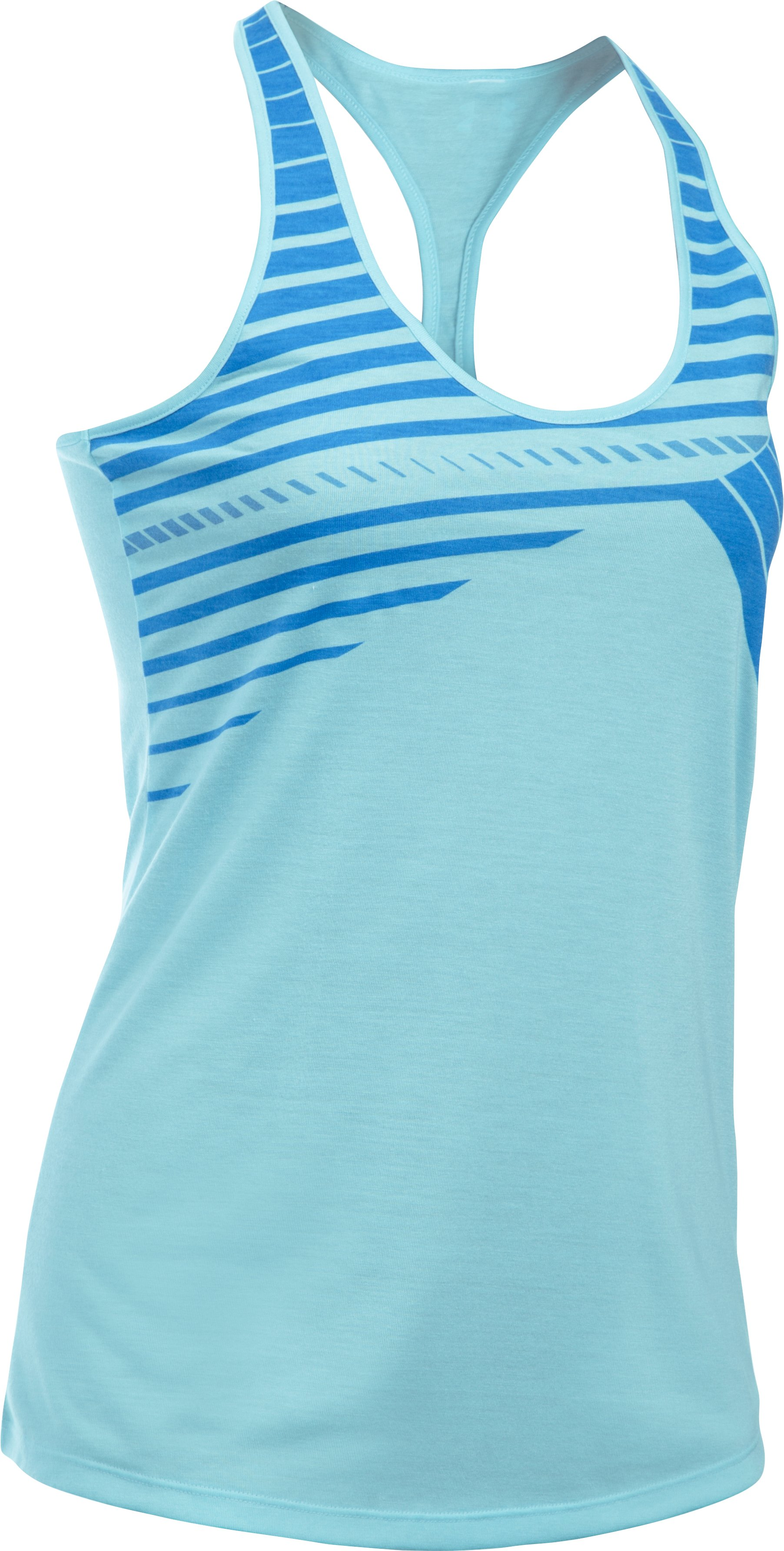 Women's UA Accelerate Graphic Tank 1, MAUI