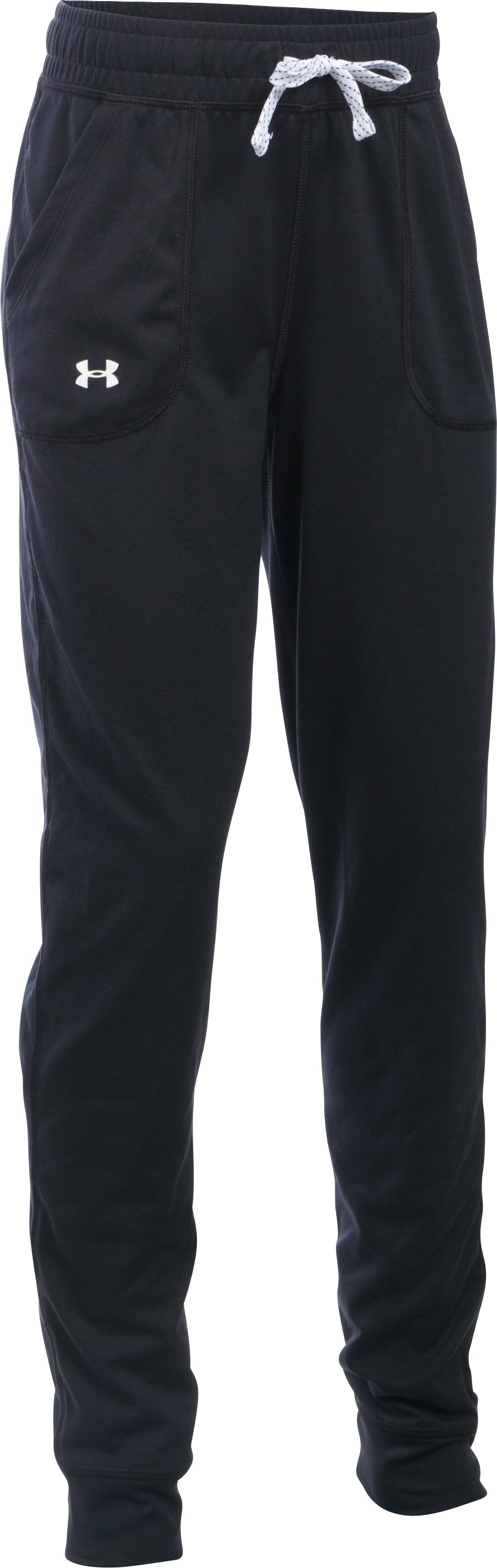 Girls' UA Graphic Tech™ Joggers, Black