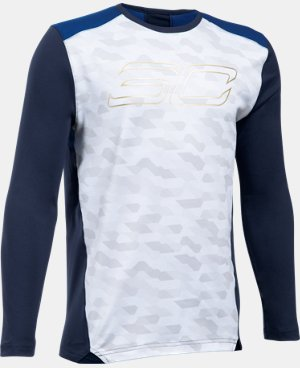 New Arrival Boys' SC30 Performance Shooting Shirt  1 Color $44.99