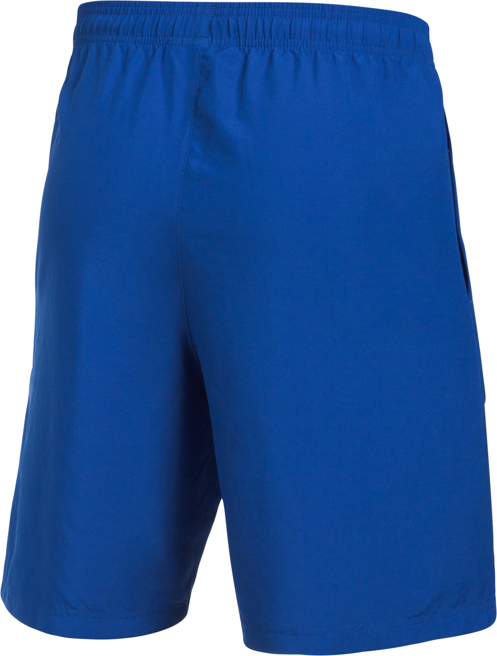 Men's UA Graphic Woven Shorts, Royal,