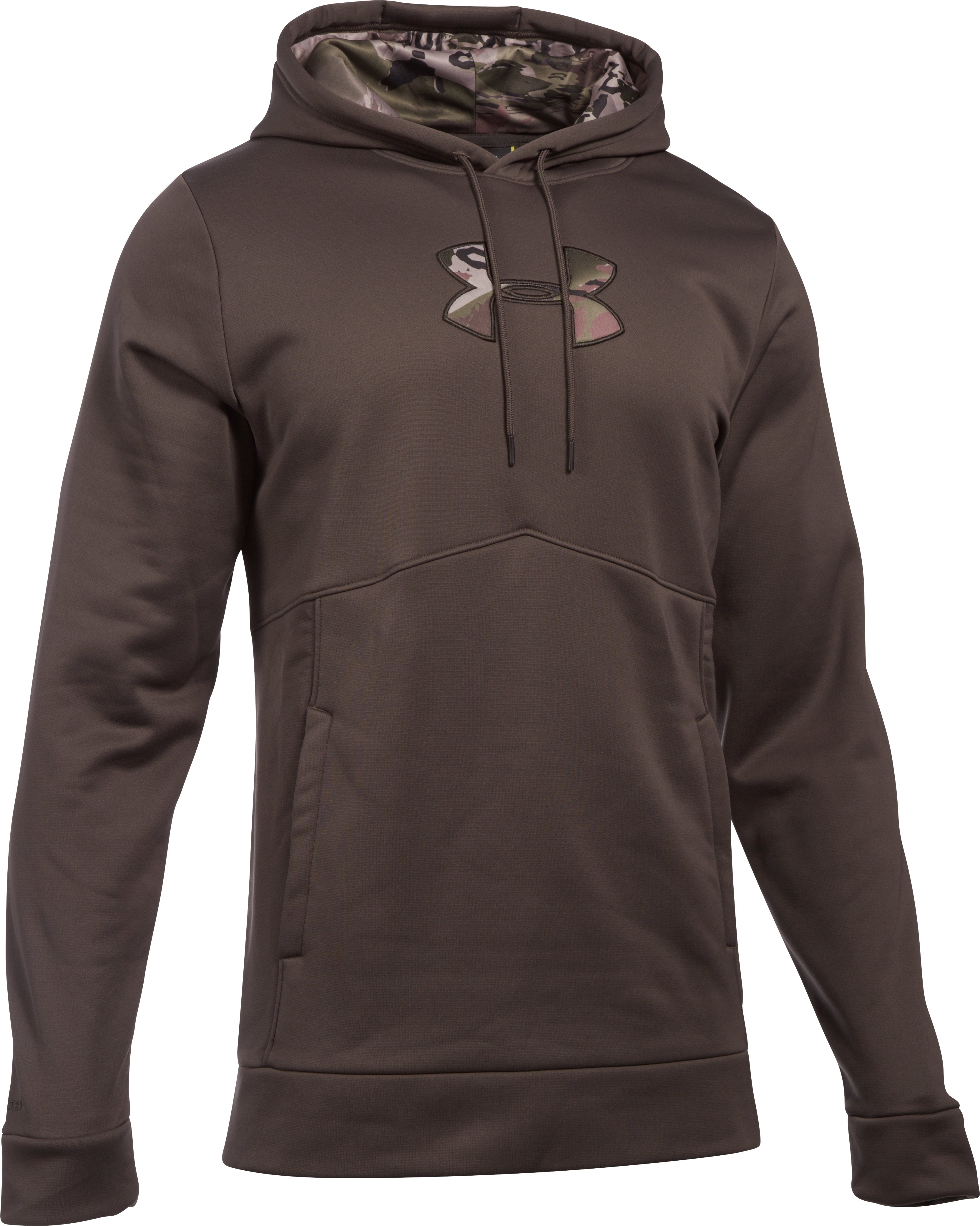 Men's UA Storm Caliber Hoodie – Tall, MAVERICK BROWN