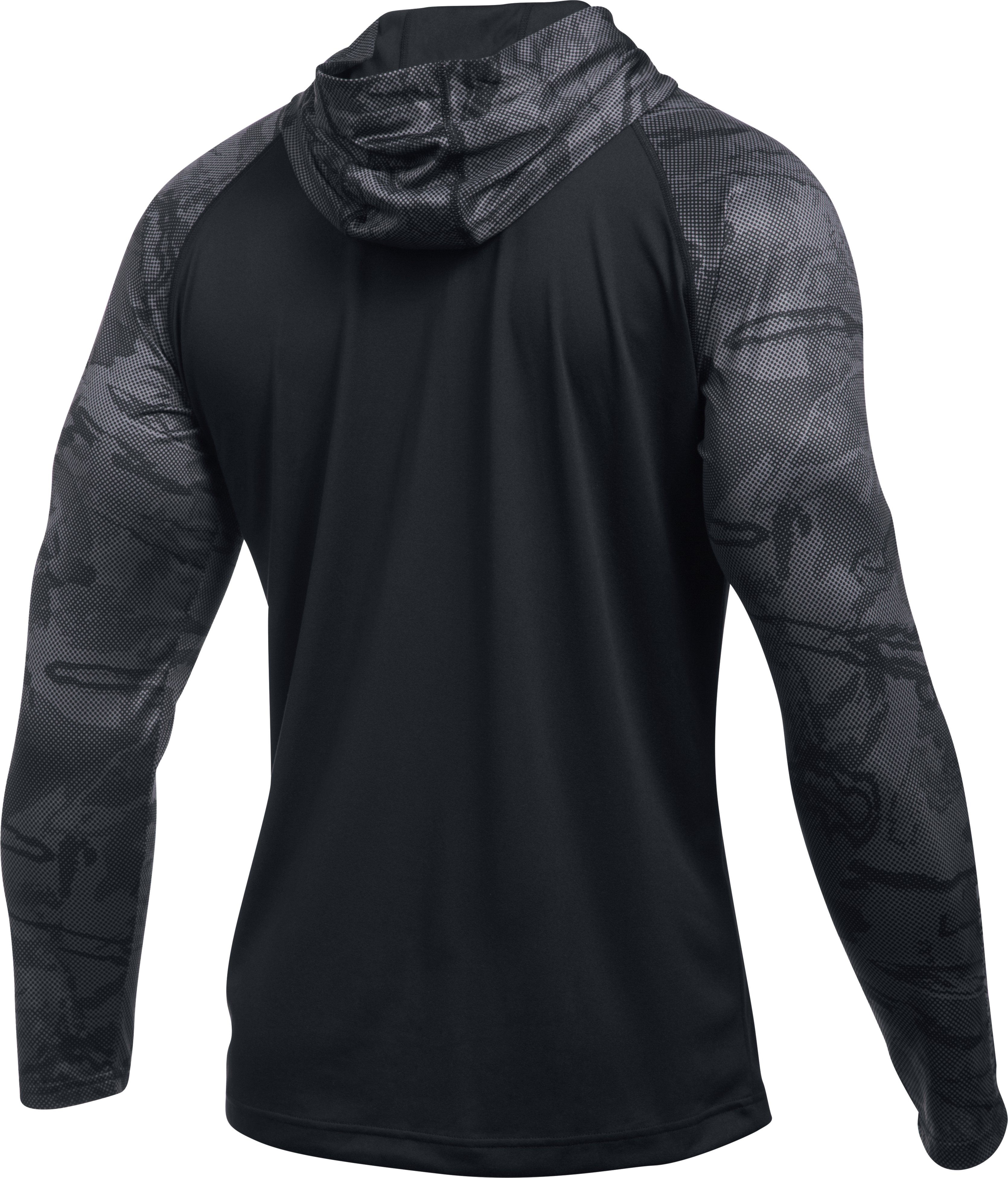 Men's UA Freedom Tech™ Popover Hoodie, Black , undefined