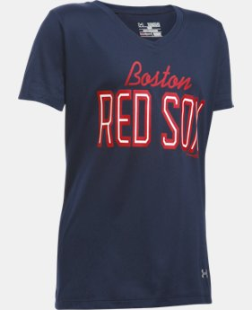 Girls' Boston Red Sox UA Tech™ T-Shirt  1 Color $29.99