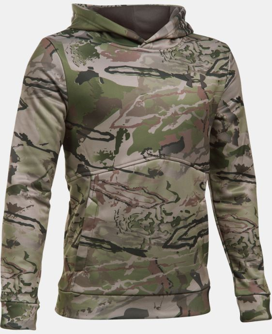 Boys' UA Storm Camo Hoodie LIMITED TIME: FREE SHIPPING 5 Colors $52.49