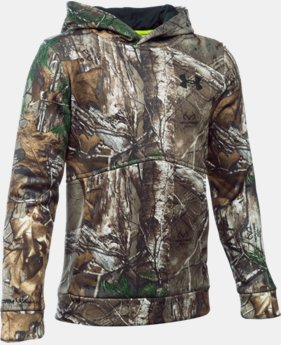 Boys' UA Logo Camo Hoodie  3  Colors Available $59.99