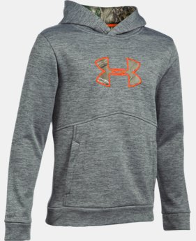 New to Outlet Boys' UA Logo Caliber Hoodie  2 Colors $31.49 to $31.99