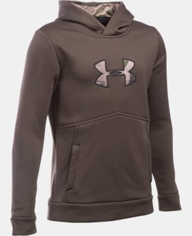 Boys' UA Storm Caliber Hoodie LIMITED TIME: FREE SHIPPING 2 Colors $48.74
