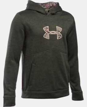 New Arrival  Boys' UA Storm Icon Caliber Hoodie  2 Colors $64.99