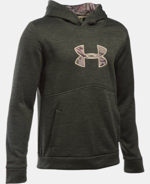 New Arrival  Boys' UA Storm Icon Caliber Hoodie  3 Colors $64.99