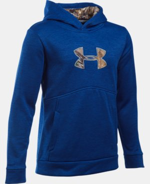 Boys' UA Storm Caliber Hoodie LIMITED TIME: FREE U.S. SHIPPING 1 Color $41.24