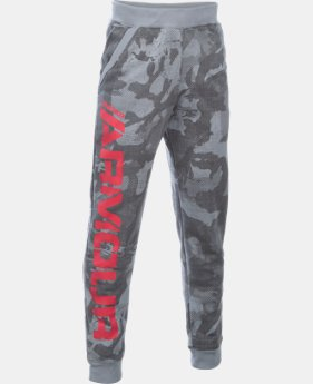 Boys' UA Sportstyle Fleece Printed Jogger LIMITED TIME: FREE SHIPPING 2 Colors $59.99