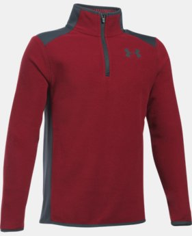 New Arrival Boys' ColdGear® Infrared Fleece ¼ Zip   $59.99