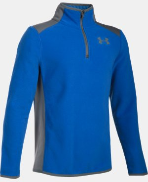 Boys' ColdGear® Infrared Fleece ¼ Zip  4 Colors $52.49
