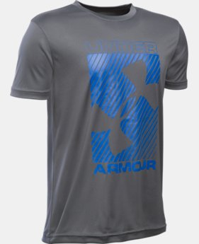 Boys' UA Sun Slasher Short Sleeve  1 Color $18.99