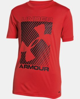 Best Seller Boys' UA Sun Slasher Short Sleeve LIMITED TIME: FREE U.S. SHIPPING 1 Color $24.99