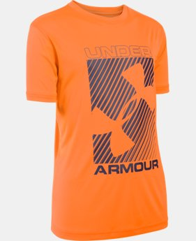 New Arrival Boys' UA Sun Slasher Short Sleeve  1 Color $24.99