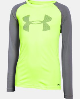 New Arrival Boys' UA Sun Slasher Long Sleeve   $29.99